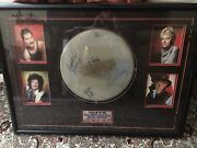 Signed Stage Used Queen Drumhead