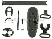 M1 Garand Butt Plate And Stock Metal Parts Set W/ Lower Band And Hand Guard Metal