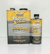 5 Star Extreme Orig Urethane Clearcoat W/activator Gallon Kit 5185