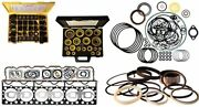 Bd-342-002of Out Of Frame Engine O/h Gasket Kit Fits Cat Caterpillar D8h D342