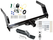 Trailer Tow Hitch For 84-88 Toyota Pickup Complete Package W/ Wiring And 2 Ball