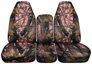 40/20/40 Camouflage Seat Covers Gmc And Chevrolet Trucks 2007-2014