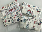 Chatham Glyn Fabrics Happy Campers Patchwork Bundle - Campervans - Nautical