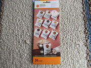 Martha Stewart Halloween Mini Treat Bags With Stickers Package Of 12 Mip