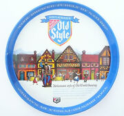 Vintage 12 Beer Serving Tray - Heilemanand039s Old Style Of La Crosse Wis.