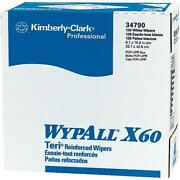 20 Cases Wypall X60 Teri Wiper Paper Towels 9.1 X 16.8 10 Boxes/case Kcc34790