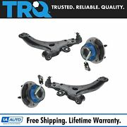 Trq 4 Piece Control Arm Hub Front Lower Kit For Buick Chevy Oldsmobile Pontiac