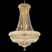 New Crystal Chandelier Primo Gold 14 Lights 28x36