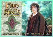 Lord Of The Rings Elijah Wood Frodoand039s Travel Jacket Costume Card Fellowship Ring