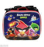 Angry Birds And Friends Space 9.5 Insulated Lunch Box Lunch Bag-brand New