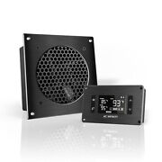 Airplate T3 Cooling Fan System 6 Thermostat Control Home Theater Av Cabinets