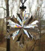 Crystal 2014 Annual Snowflake Christmas Ornament New In Box