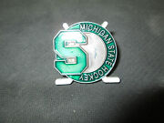 Ncaa- Michigan State Spartans Crossed Sticks Pin