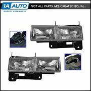 Oem 15034929 And 15034930 Headlight Lh Left Rh Right Pair Set For Chevy Gmc