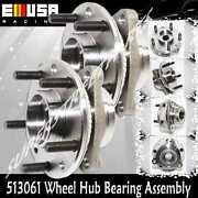 1pair Front Wheel Hub Bearing For 94-97 Chevy S10 92-96 Gmc Jimmy S15 4wd 513061