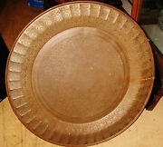 Large Antique Brass Tray Asian Oriental  Middle Eastern Indian India