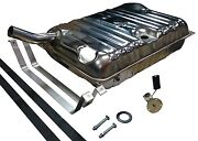 41-48 Chevrolet Stainless Gas/fuel Tank And Sending Unit And Strap Kit