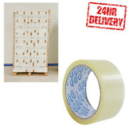 1 Pallet 90 Boxes Clear 48mm X 66m Parcel Packing Tape Clearance
