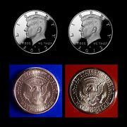 2013 P+d+s+s Kennedy Silver And Clad Mint Proof Set Pd In Original Mint Wrappers