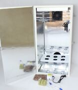 Led Grow Box Stealth 6 Site Hydroponic Cabinet With Carbon Filter