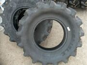 Three 9.5x16 R1 6 Ply Bar Lug Backhoe Kubota Mx5000dt Farm Tractor Tires