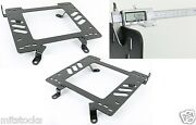 1 Pair Heavy Duty 5mm Racing Seat Bracket Adapter Fit 1999-2005 Vw Mk4 Chassis
