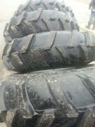 Four 14.9x24 Ap John Deere Ford 6 Ply Mud Truck / Tractor Tires On Wheels