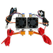 Geeetech Latest Mk8 Dual Extruder Two Print Heads For Makerbot Free Shipping