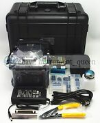 Ry-f600p Fibre Fusion Splicer With Fiber Holders 5.6 Inch Tft Color Lcd New