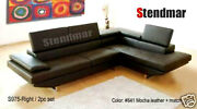 New Modern Euro Style Leather Sectional Sofa S975