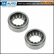 Timken Axle Shaft Wheel Bearing Rear Pair For Gm Dodge Ford With 9.5 Ring Gear