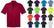 Port Authority Mens Big And Tall Silk Touch Dri-fit Polo Shirts New Golf Tlk540