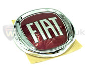Fiat 500 And 500c Rear Tailgate / Trunk Badge 735565897 New And Genuine Fiat