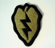 25th Infantry Division Ocp Regulation Patch W/hook Made In Usa