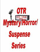 Old Time Radio Mystery Horror Mp3 8 Dvds 5400+ Shows