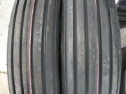 One 600x16600-166.00-16 Rib Implement Tractor Tire W/tube Disc Do-all 6 Ply