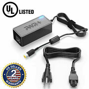 Pwr+ Ul Listed Ac Adapter For Lenovo Laptop Charger Extra Long Power Cord