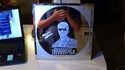 Terminator 2 Judgment Day Hand Etched Mirror Hand Drawn And Glass Etched .