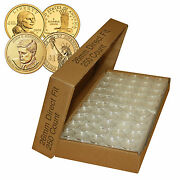 250 Direct Fit Airtight A26 Coin Holders Capsules For Presidential 1 /sacagawea