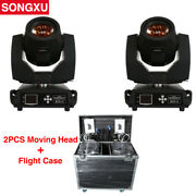2pcs 230w Beam 7r Sharpy Beam Moving Head Light With Road Case Package