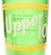 Vintage Acl Soda Pop Bottle Upper 10 From Royal Crown Cola - 16 Oz Acl