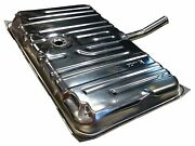 71-72 Chevelle Stainless Steel Gas Fuel Tank And 3/8 Sending Unit And Strap Kit