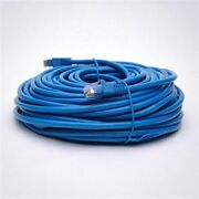 50 Pack Lot - 200ft Cat6 Ethernet Network Lan Patch Cable Cord 550mhz Rj45 Blue