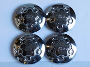 1998-2011 Ford Crown Victoria P71 Center Hub Cap Wheel Cover New Set Of 4