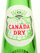 Vintage Acl Soda Pop Bottle - Canada Dry Of Indiana Pa - 10 Oz Acl