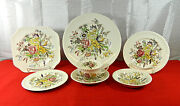 82-pcs Or Less Of Johnson Brothers Garden Bouquet Pattern Fine English China