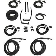 1959 1960 Buick And Lesabre 4dr Hardtops Body Weatherstrip Seal Kit