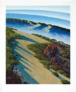 Bruce Ricker - Mountain Meadows Hand-signed Serigraph On Paper