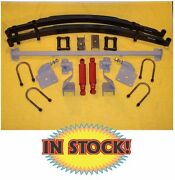 Chassis Engineering As-1015cgy - 1948-54 Chevy P/u Complete Rear Leaf Kit