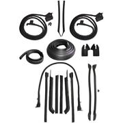 1968 Cadillac Deville 2dr Convertible Body Weatherstrip Seal Kit